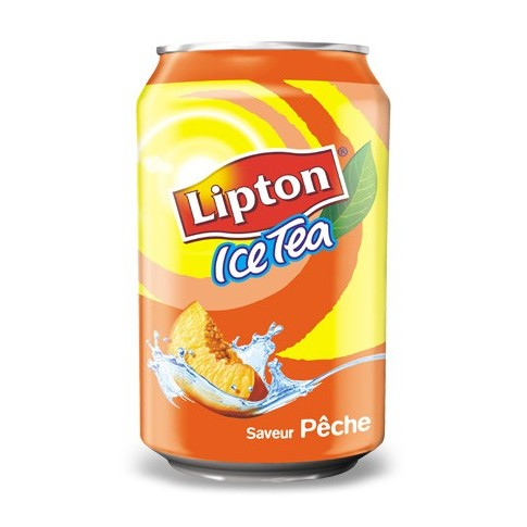 Canette Lipton Ice Tea 33cl